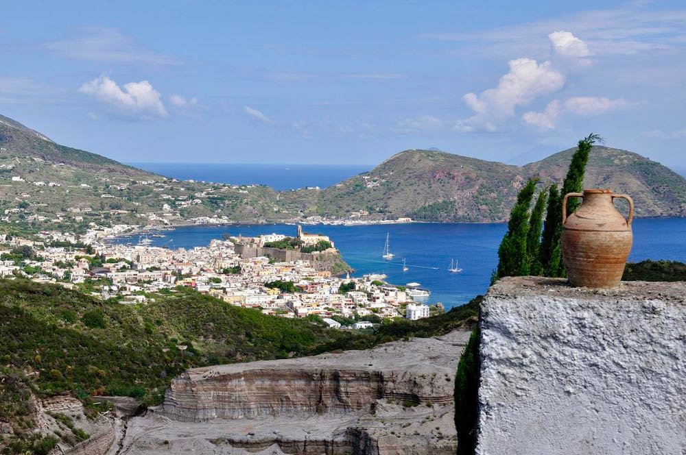 Lipari Island Town