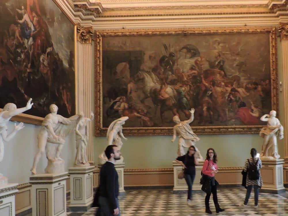 Niobe room Uffizi Gallery Florence