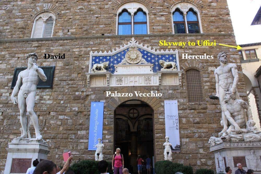 Palazzo Vecchio Hercules Uffizi Gallery