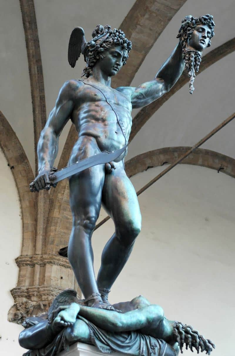 Perseus with the head of Medusa Florence