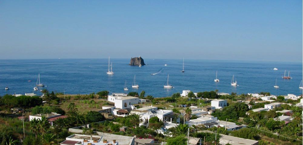 Sailing Boats Stromboli