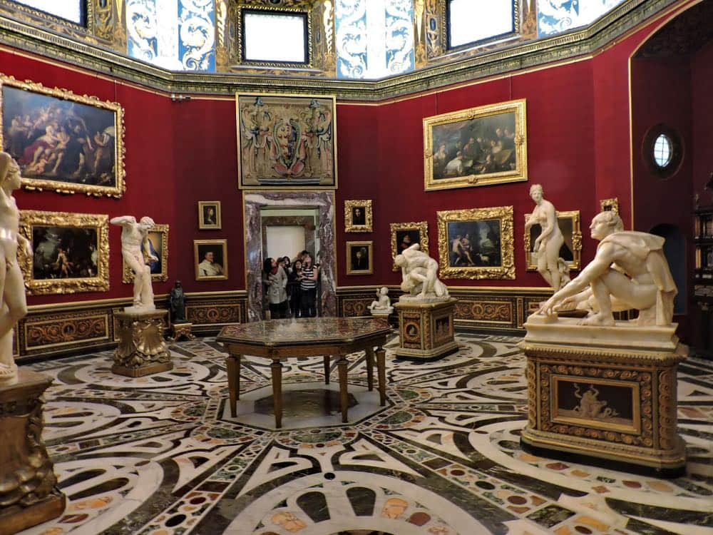 Tribuna of the Uffizi Florence