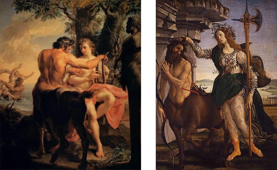 Uffizi Gallery Centaurs