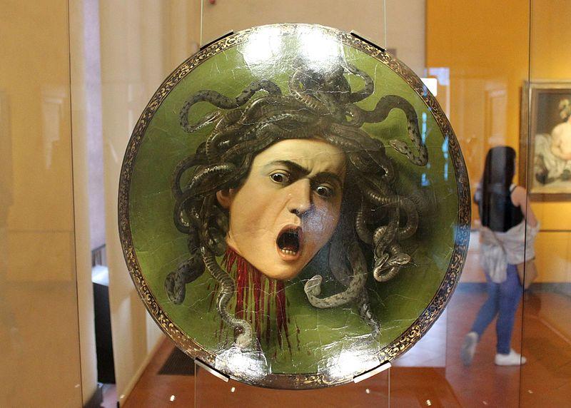 Uffizi Gallery Florence Medusa Caravaggio