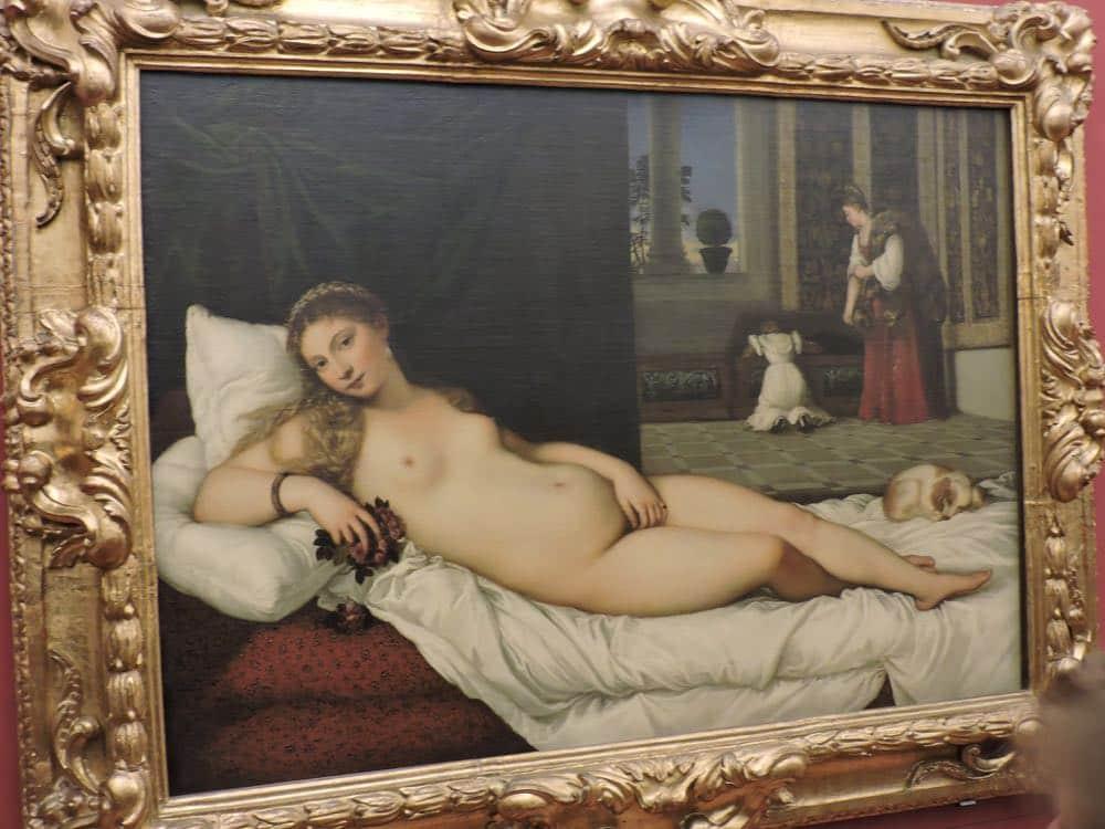 Uffizi Gallery Venus of Urbino
