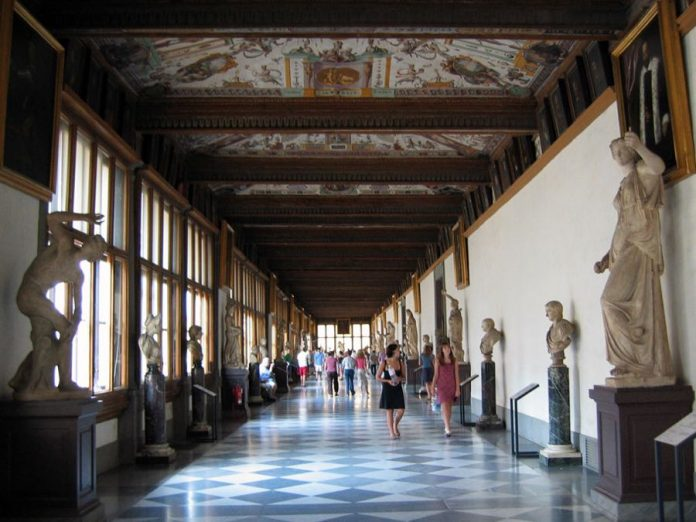 Uffizi Gallery in Florence Greek Mythology Masterpieces