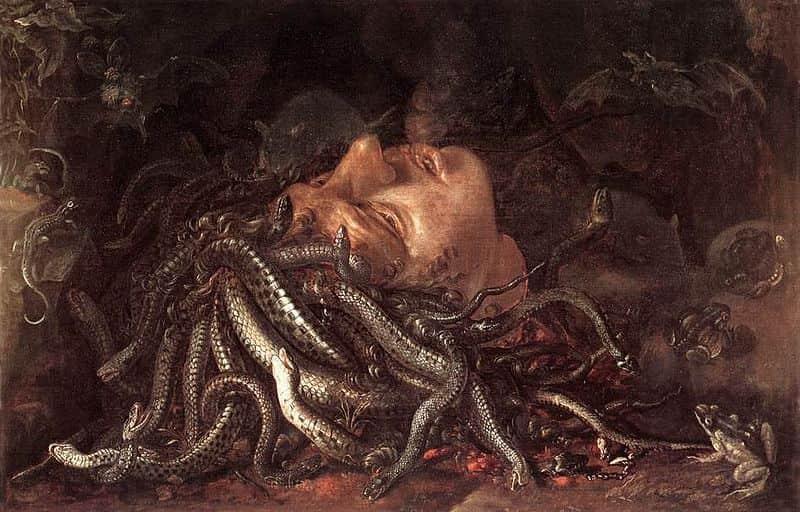 Uffizi Head of Medusa