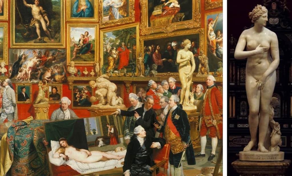 Venus de Medici Uffizi Gallery