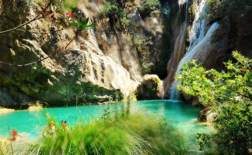 Hidden Gems Greece Polilimnio Waterfalls