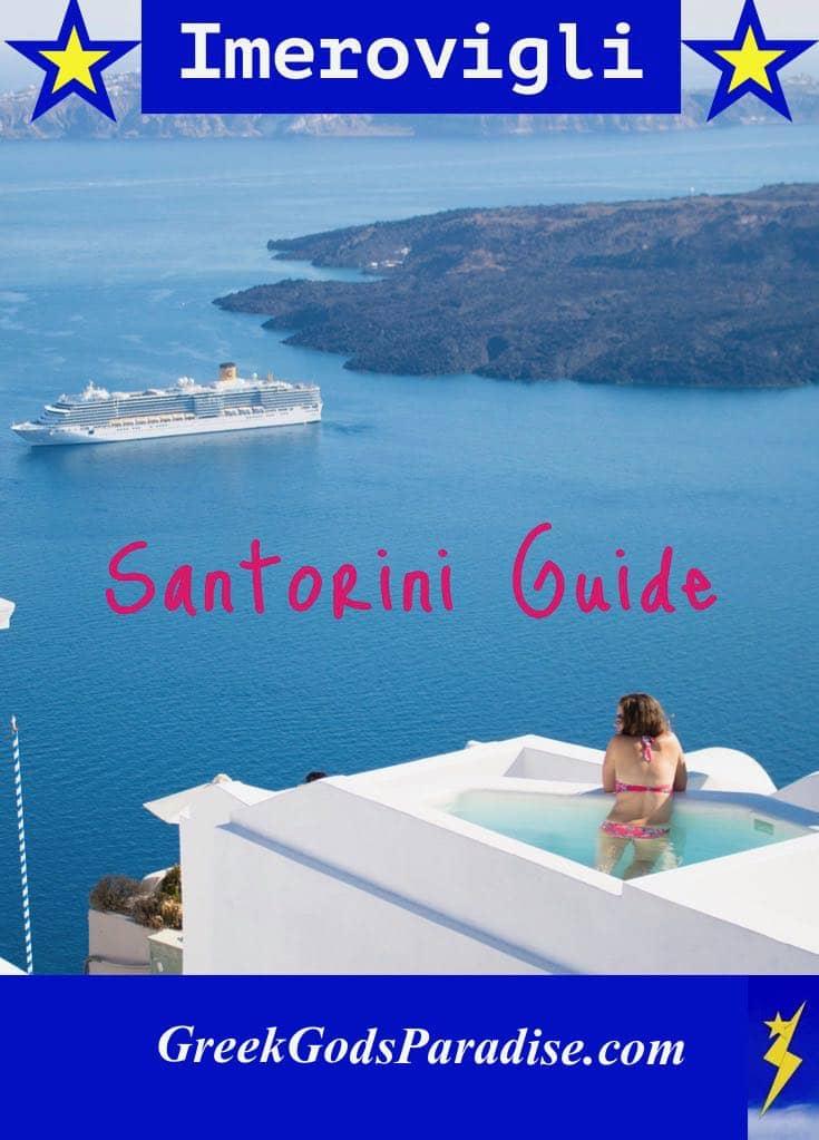 Imerovigli Santorini Travel Guide