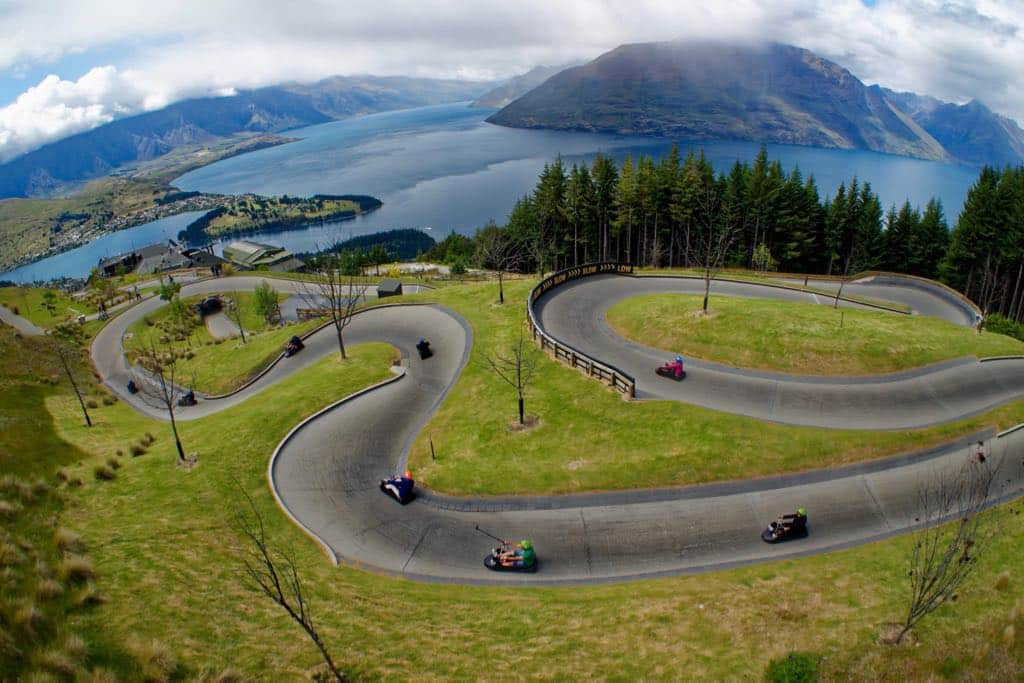 Things to do in Queenstown Luge cart ride