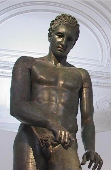 Apoxyomenos statue Croatia