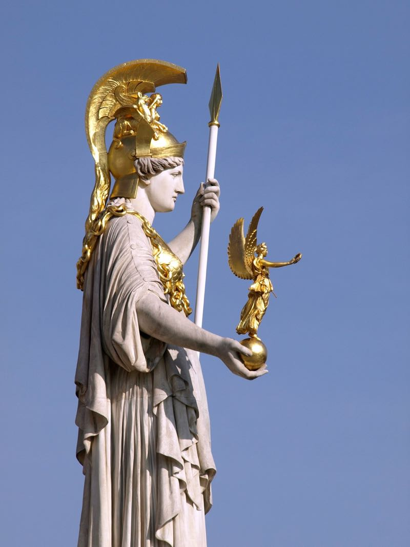Athena Sculpture Fountain Vienna