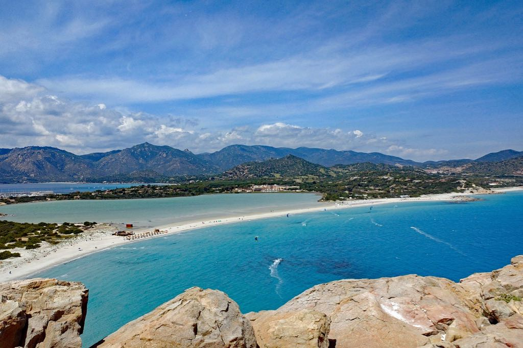 Best beaches in Sardinia Villasimius South East Region
