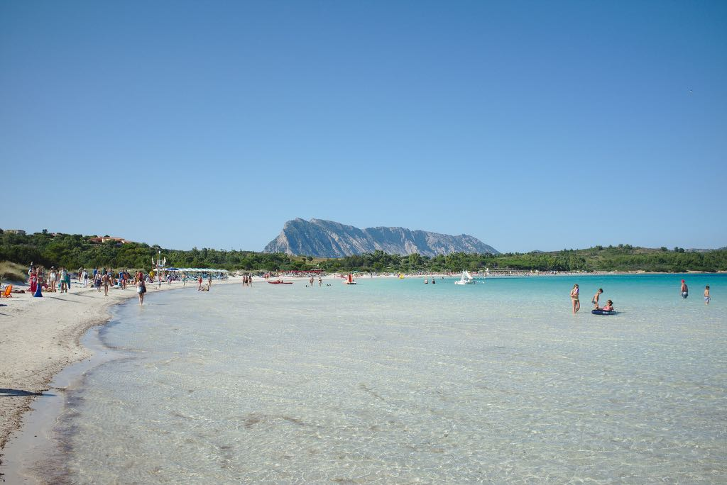 Cala Brandinchi Great beach in Sardinia