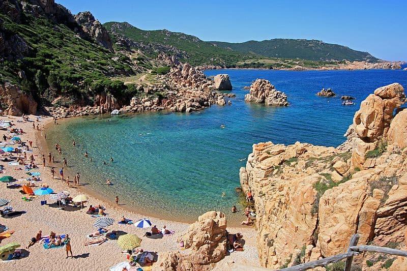 Costa Paradiso Paradise beach Sardinia