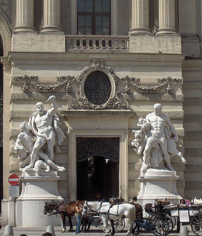 Hercules Sculptures Vienna