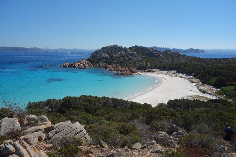 Secluded beach in Sardinia