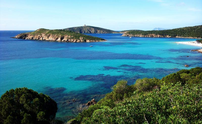Spiaggia di Tuerredda Sardinia