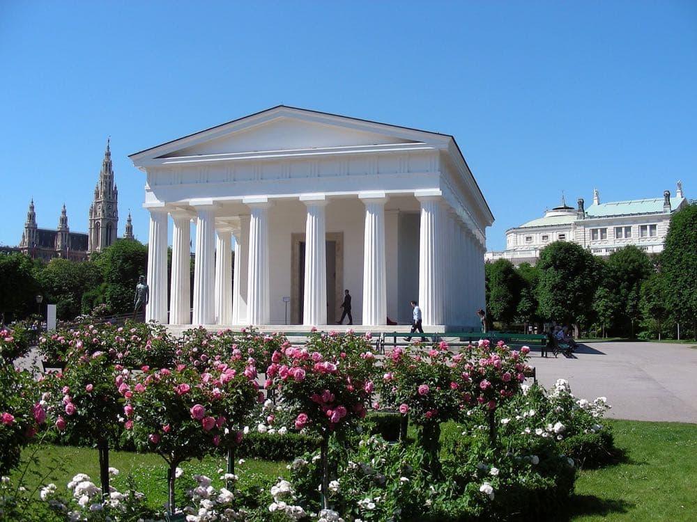 The Theseus Temple Vienna