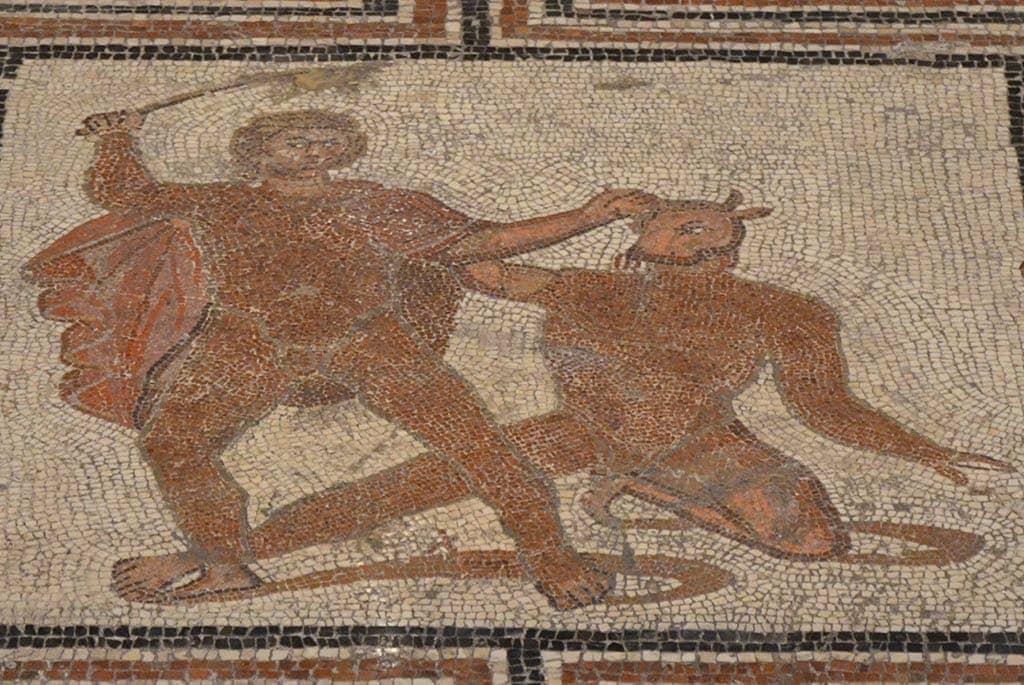 Theseus Mosaic Kunsthistorisches Museum Vienna Austria