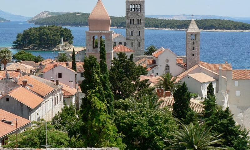 Top Croatian Islands Rab
