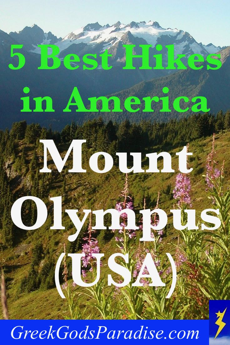 5 Best Hikes in America Mount Olympus USA