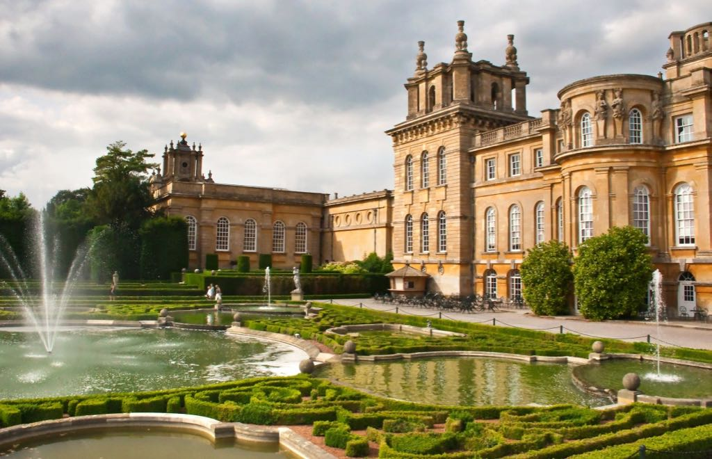Blenheim Palace and Formal Gardens UK