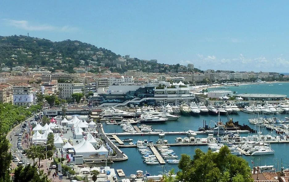 Cannes resort town French Riviera