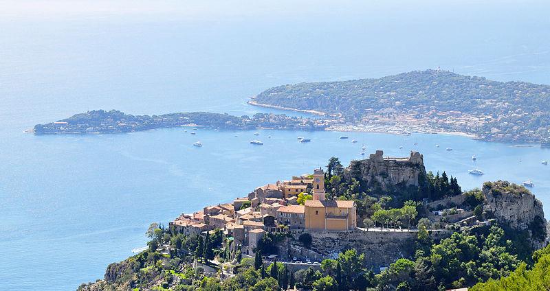 French Riviera Eze Village Cap Ferrat Grande Corniche
