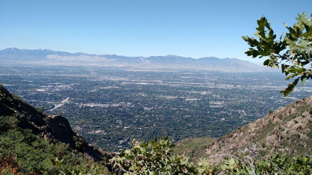 Hiking Mount Olympus Utah
