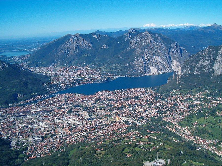 Lecco Lake Como Italy