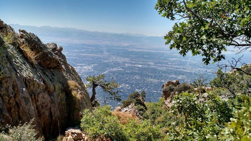 Mount Olympus Hike Scenery Utah