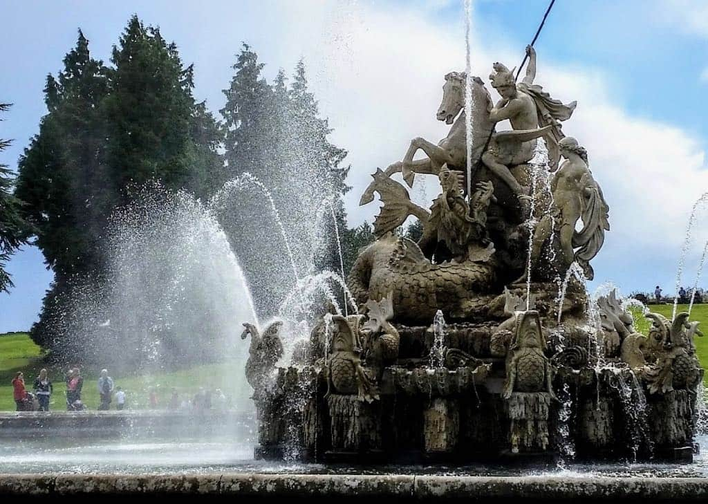 Outside London Perseus and Andromeda Fountain Witley Court