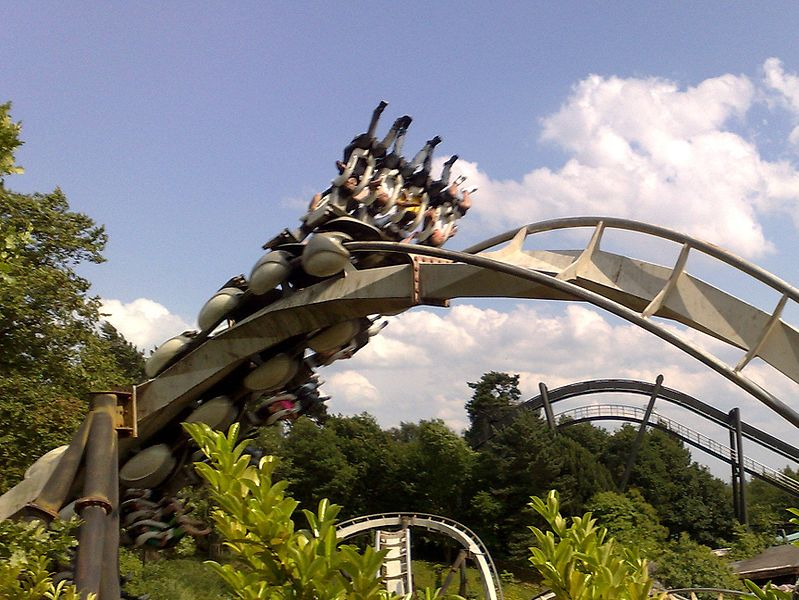 Theme Parks in the UK Nemesis Alton Towers