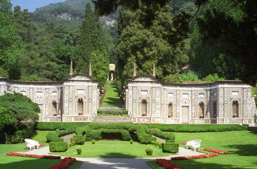 Villa d'Este Cernobbio Hercules fountain