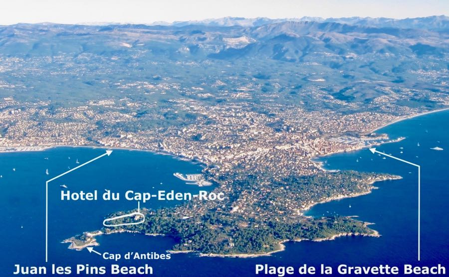 Aerial photo Antibes and Juan les Pins