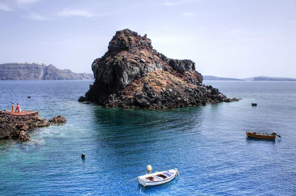 Amoudi Bay St. Nicholas Island