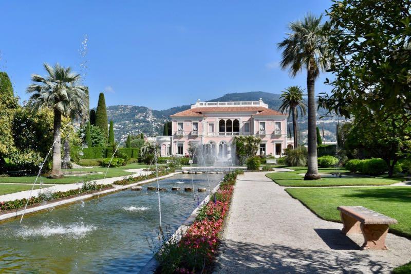 Ephrussi de Rothschild Villa and Gardens
