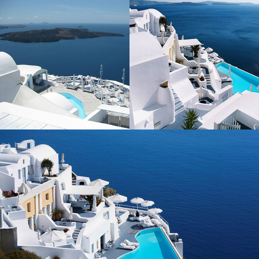 Katikies Hotel in Santorini Greece Best Infinity Pool