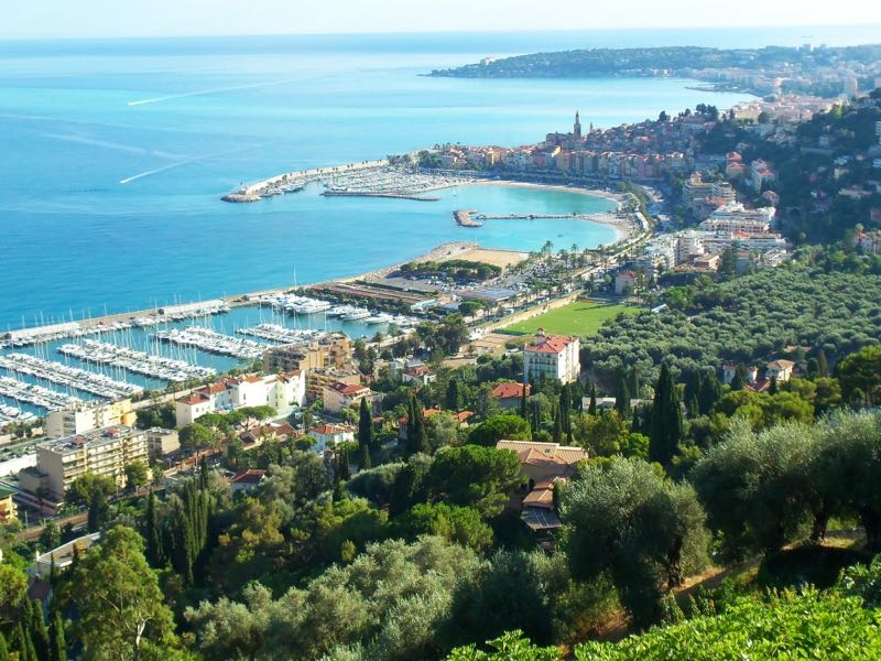 Menton-in-the-French-Riviera