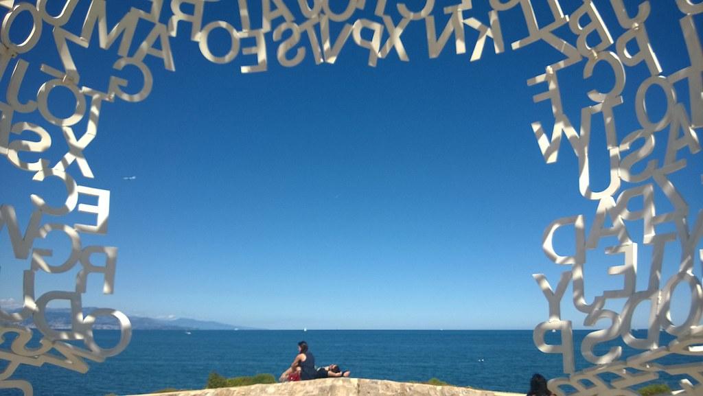 Nomade Jaume Plensa Antibes French Riviera