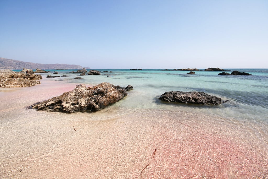 Elafonisi beach Best beaches in Crete