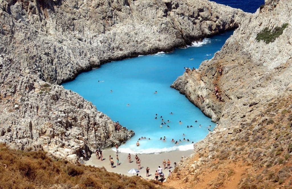 Seitan Limania beach Crete