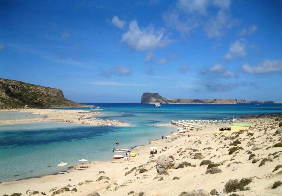 Best beaches in Crete Balos Lagoon Beach