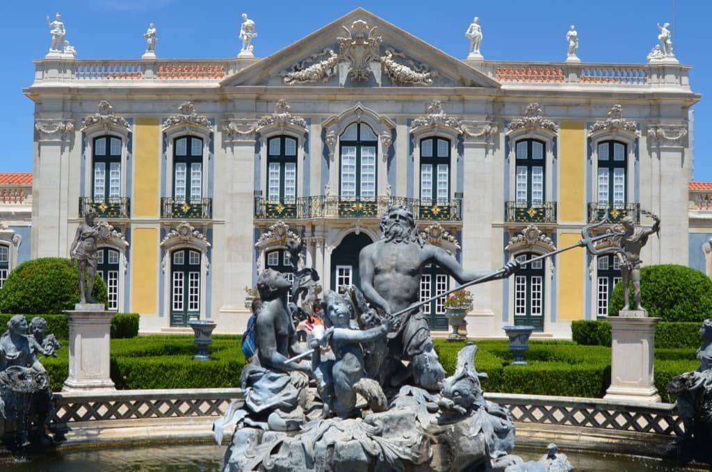 Fountain of Neptune Palace of Queluz Sintra