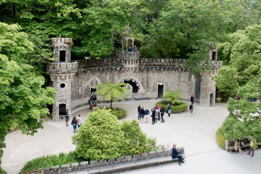 Portal of the Guardians Quinta da Regaleira