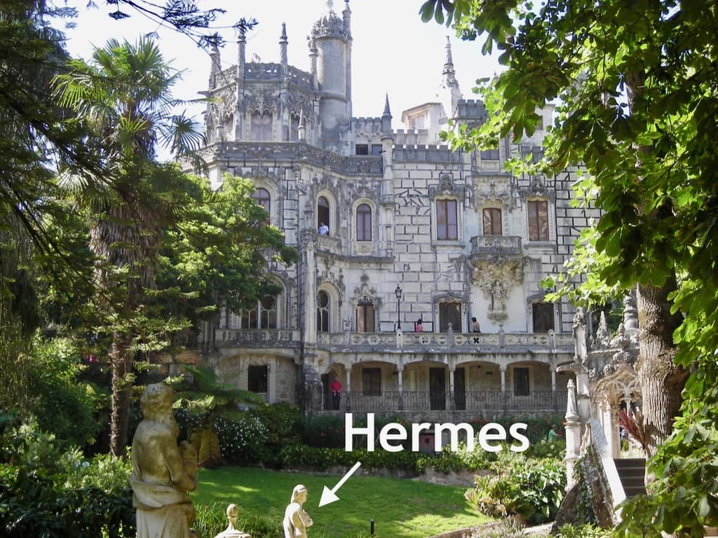 Quinta da Regaleira Promenade of the Gods Sintra