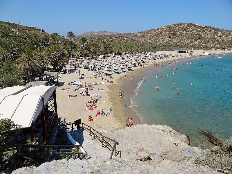 Vai Beach one of the best beaches in Crete