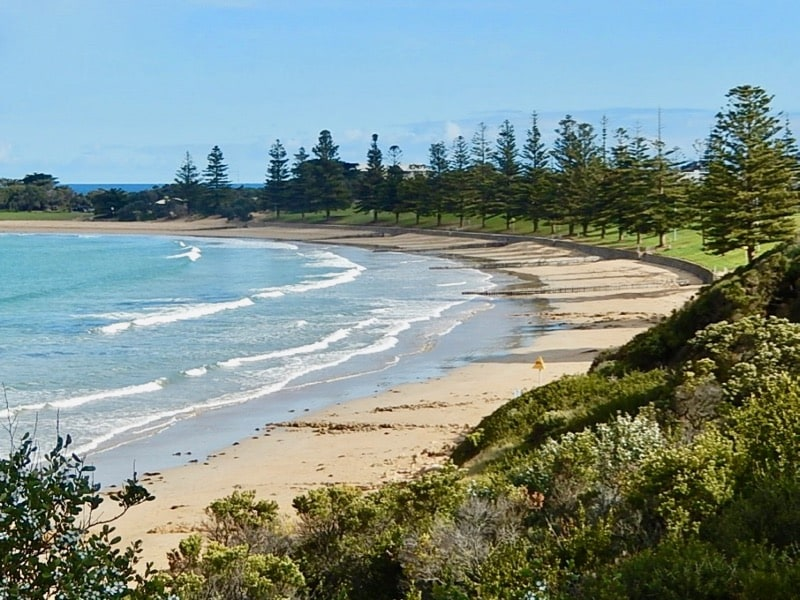 Cosy Corner beach Torquay
